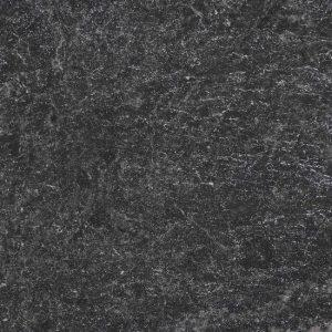 Ebony Black Tumbled Limestone