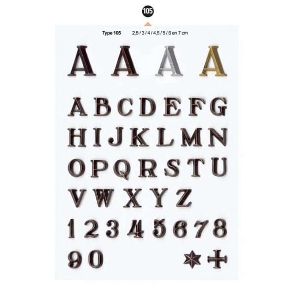 Graf Letters Type105 Grafversieringen