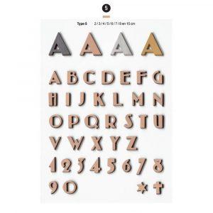 Graf Letters Type5 Grafversieringen