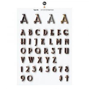 Graf Letters Type8a Grafversieringen