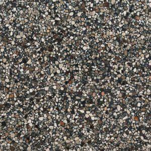 Terrazzo Stone Antraciet Gezoet Composiet Vloertegel