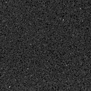 Terrazzo Stone Zwart Gezoet Composiet Vloertegel