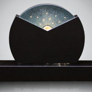 7208 - Black - Ornament A4001