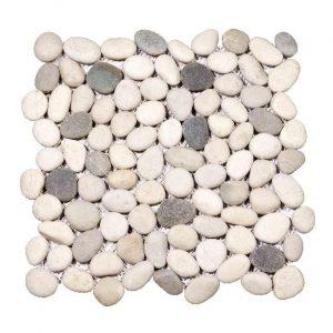 Beach Pebbles Small Grey-Beige Decortegel