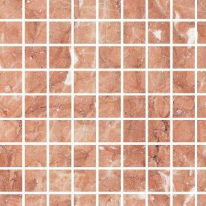 Efesus Mozaïek Marmer Oranje-Rood Decortegel