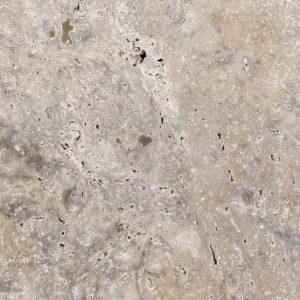Efesus Travertin Grijs Natuursteen Wandtegel