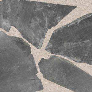 Flagstones Ultra Black Natuursteen