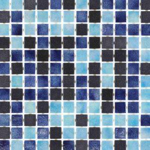 Glasmozaïek Cocktail Blue Lagoon Decortegel