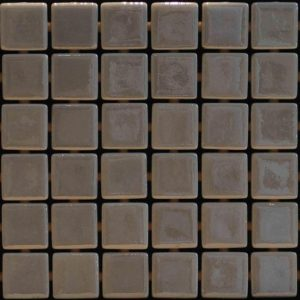 Glasmozaïek Metal Nickel Decortegel