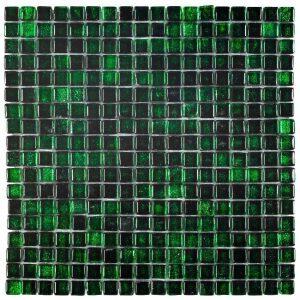 Glasmozaïek New San Marco Green Decortegel