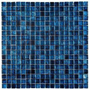 Glasmozaïek New San Marco Royal Blue Decortegel