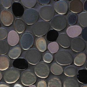 Glazed Ceramic Mosaics New York Bubbles Decortegel
