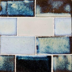 Glazed Lava Mosaics Maldives Large Decortegel