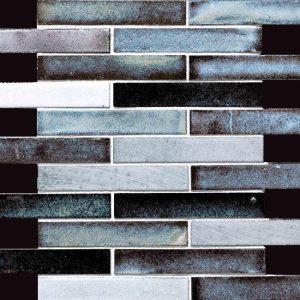Glazed Lava Mosaics Maldives Medium Decortegel