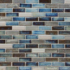Glazed Lava Mosaics Maldives Small Decortegel