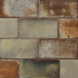 Glazed Lava Mosaics Zanzibar Large Decortegel