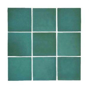 Zellige Turquoise Gloss Keramiek Wandtegel