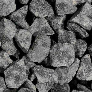 Natuurstenen Basalt Zwart Brokjes