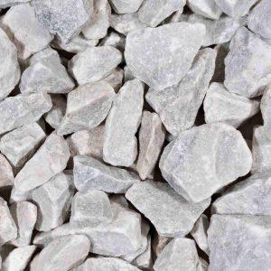 Natuurstenen Carrara White Brokjes