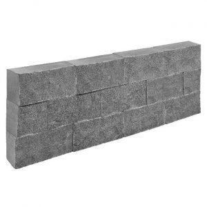 Natuurstenen Stapelblok Dark Grey