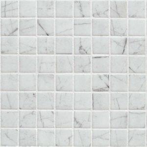 Glasmozaïek Zen Carrara Decortegel