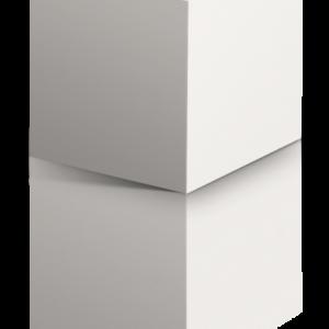 Classic White cubo3d