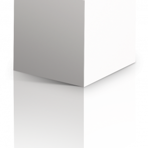 Iconic White cubo3d